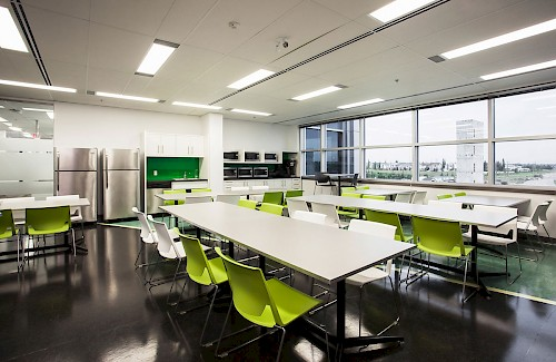 Parkside Schneider Electric Staff Room