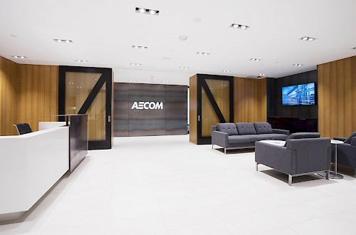 Quarry Crossing Aecom Reception